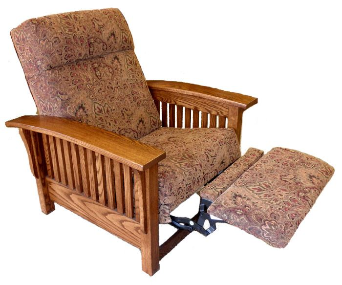 Mission Style Recliners In A Variety Of Stain And Fabric Options Furniture Warehouse American Furniture Furniture