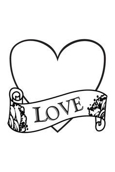 Superior I Love You Coloring Pages | Love And Hearts Coloring Pages   Free Pages For  Print