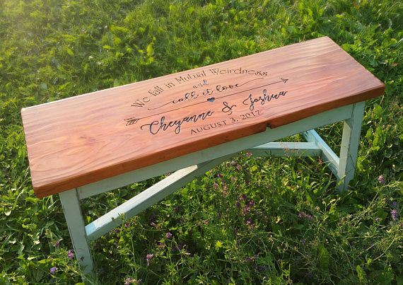 Looking For A Modern Farmhouse Custom Wood Bench For A Standard Or Small Entry Our Customized Engraved Rustic Entrywa Wood Bench Custom Wood Painted Benches