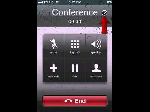 Conference Call On iPhone (3way Call) Iphone, Iphone