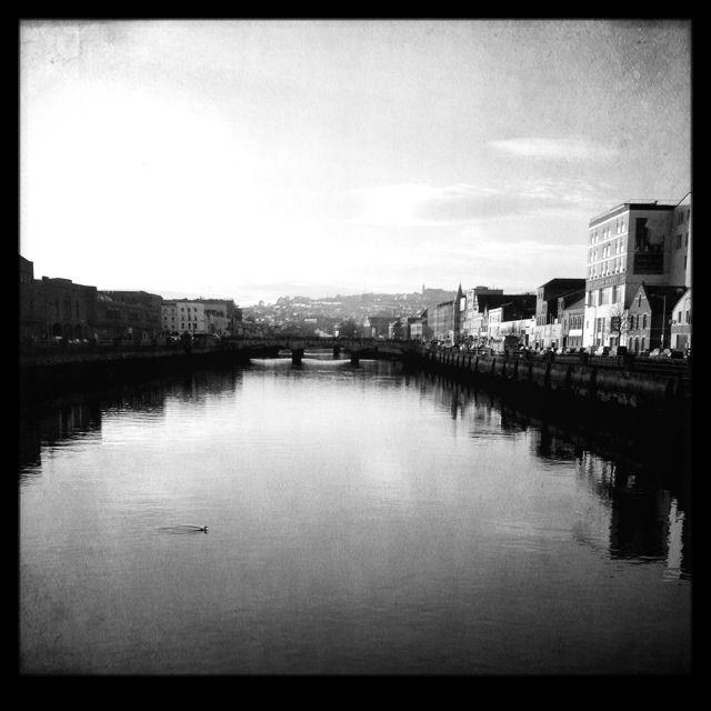 Cork city river shot
