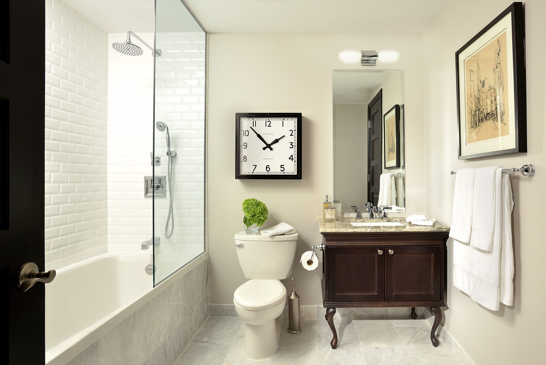 Bathroom Space Designed By Glen U0026 Jamie From Peloso Alexander Interiors.  #GlenandJamie #Design