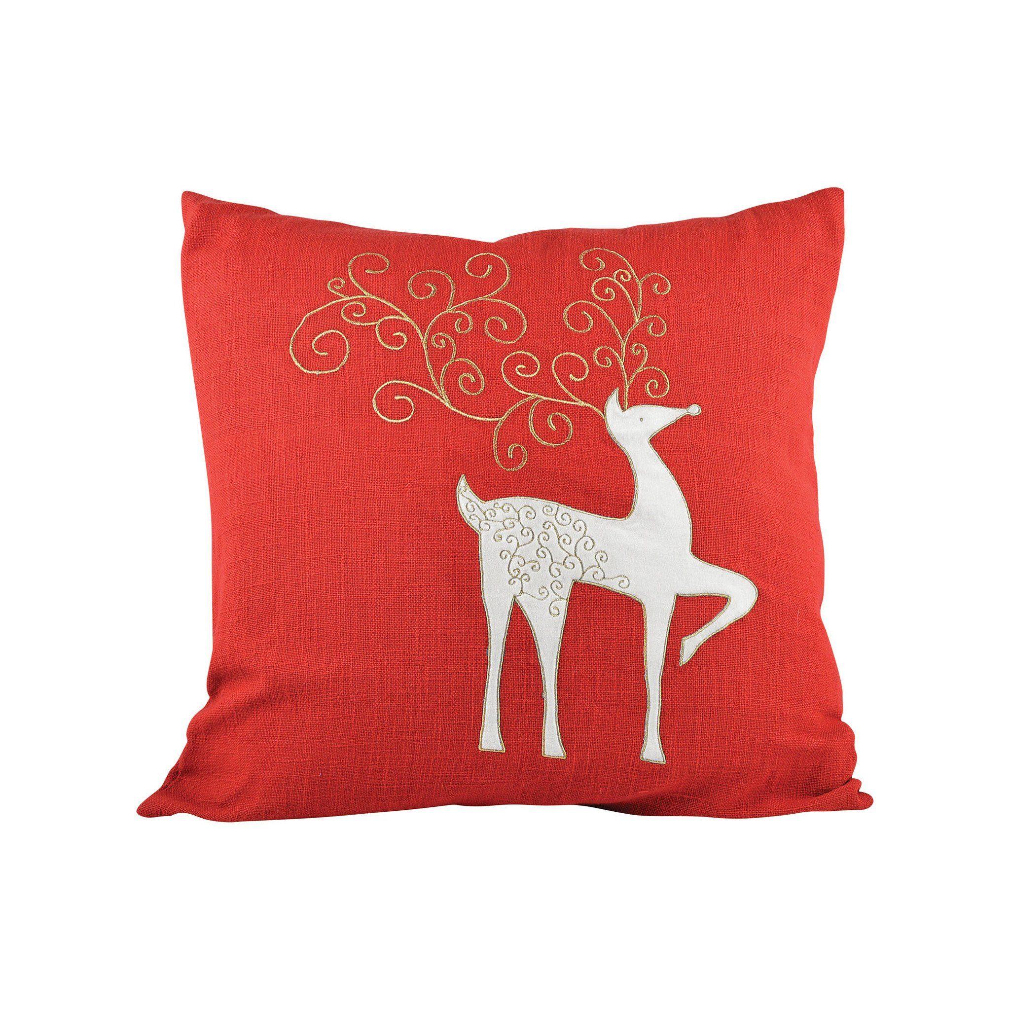Buy Elk Group ELK902345 Enchanted 20x20 Pillow Ribbon Red
