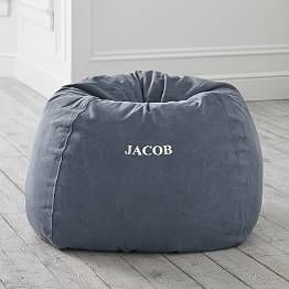Furlicious Ivory Faux Fur Bean Bag Chair Bean Bag Chair