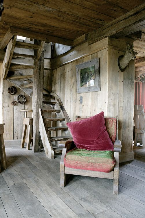 Rustic fairytale lodge in the mountain was like the ugly duckling and turned into a magnificent swan.