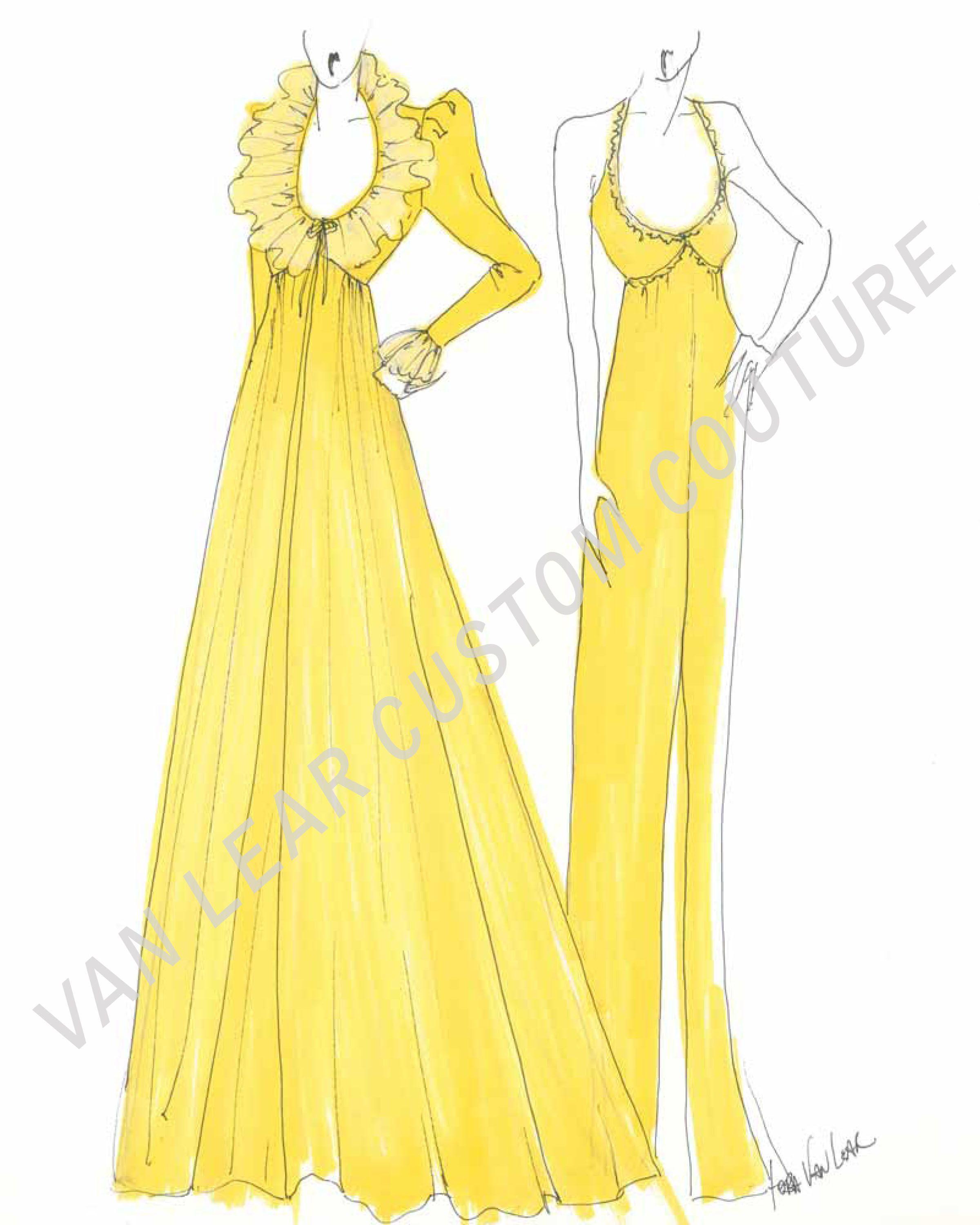 Vintage Fashion Illustration Quick Croquis Done By Lora Vanlear Fashion Designer Specializi Fashion Illustration Fashion Design Fashion Illustration Vintage