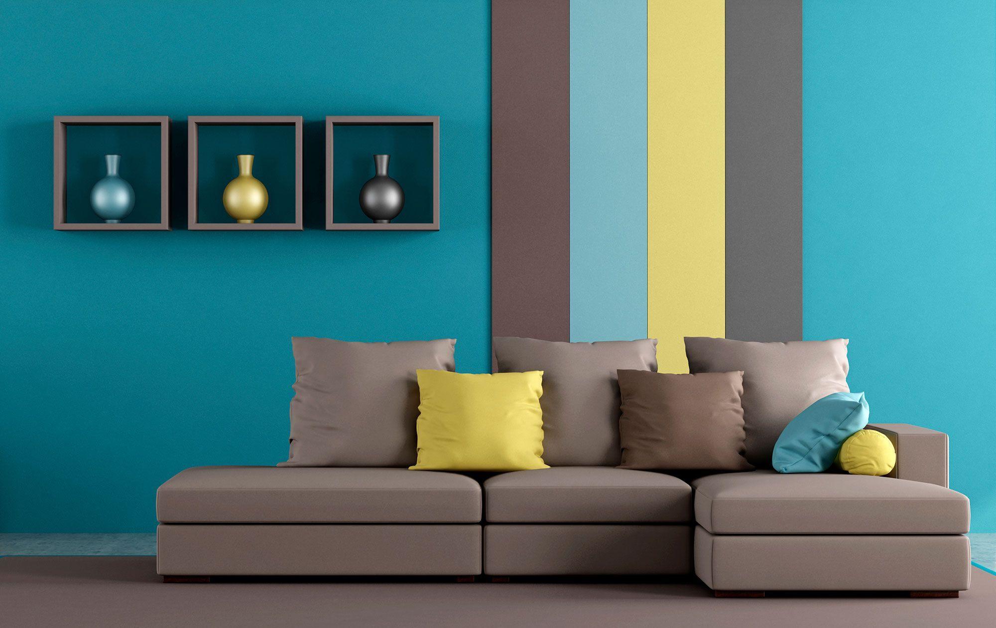 Sofa Marron Combinaciones De Colores Interiores Sofas Marrones Combinacion Colores Paredes
