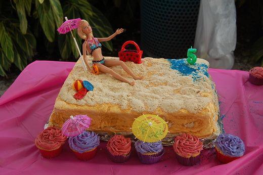Barbie Beach Theme Birthday Party Ideas With Images Beach