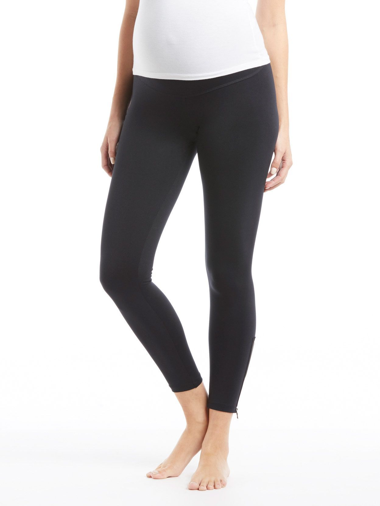 165b8bf91a315 David Lerner Zipper Maternity Legging in 2019 | Sample Sale ...
