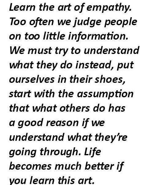 Untitled Empathy quotes, Assumption quotes