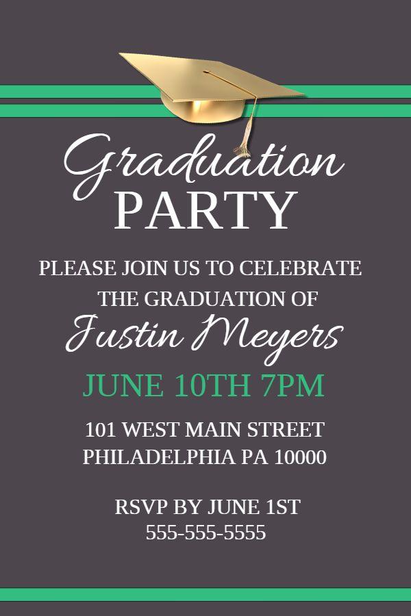 Graduation party poster template Click to customize Graduation - copy university diploma templates