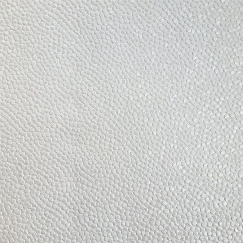 Gold Pattern Paper Foil Stamped Damask In Pearlescent White A4 Size