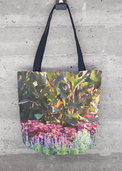 VIDA Tote Bag - Pink Hibiscus by VIDA mlmc8Kw