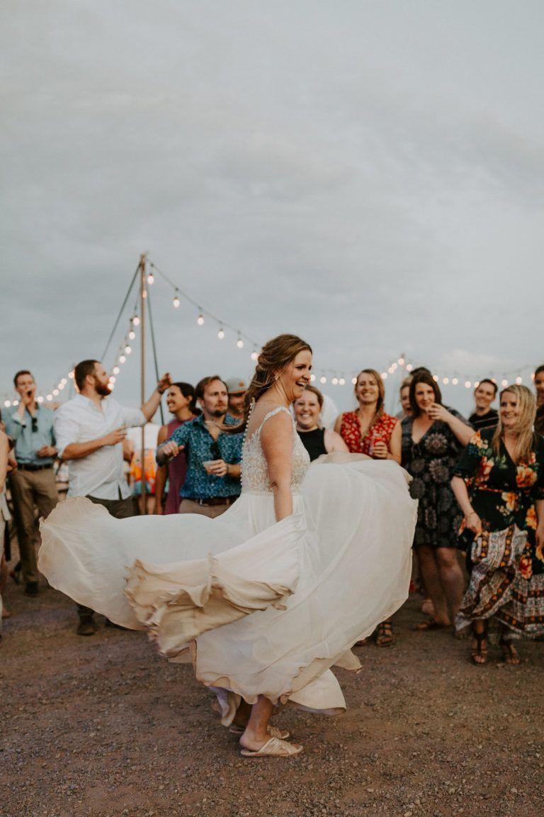 Glamping wedding at moab under canvas desert weddings pinterest