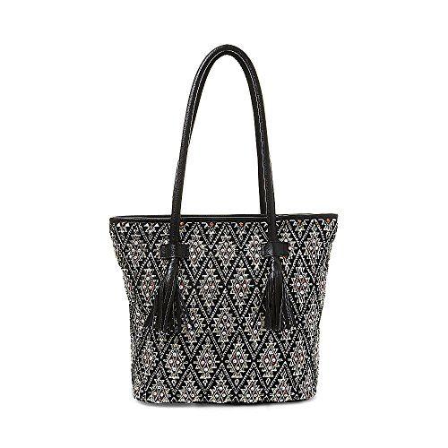 1a4bab7f703 Steve Madden Womens Bburke Black Handbag Onesize   Visit the image link more  details.