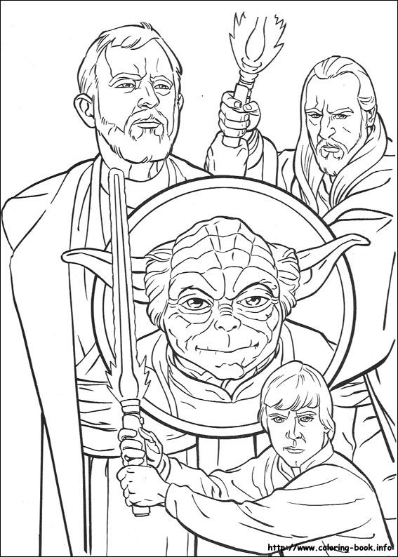 Star Wars coloring picture | Star Wars | Pinterest | Star