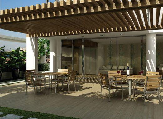 50 ideas de techos para terrazas terrazas techos Balcones madera exterior