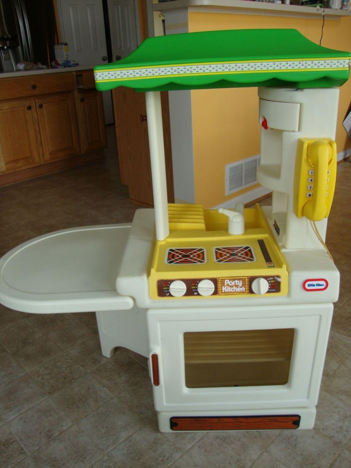 Little Tikes Party Kitchen Vintage 1980S