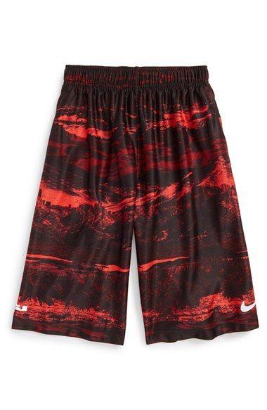 Nike 'LeBron Elite' Dri-FIT Basketball Shorts (Little Boys ...