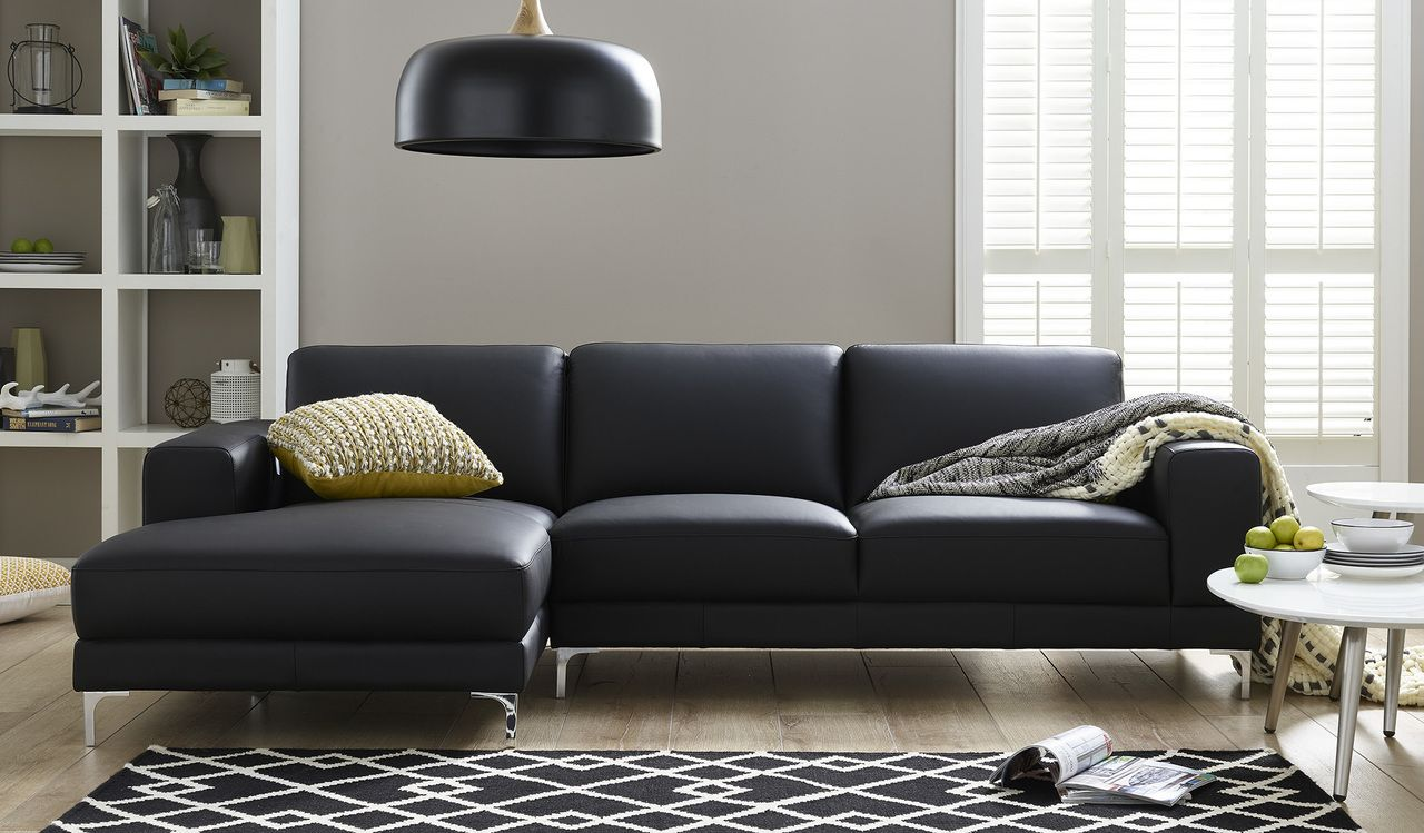 Berkeley chaise charcoal focus on furniture dream home