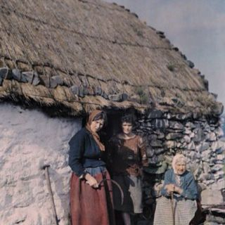 Three generations of women from the West of Ireland. Photo taken in the 1920's