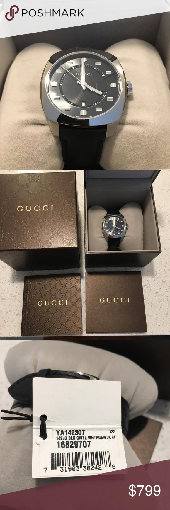 53013d3bca9 NWT Gucci GG2570 Men s Watch YA142307 NWT. Comes with original box