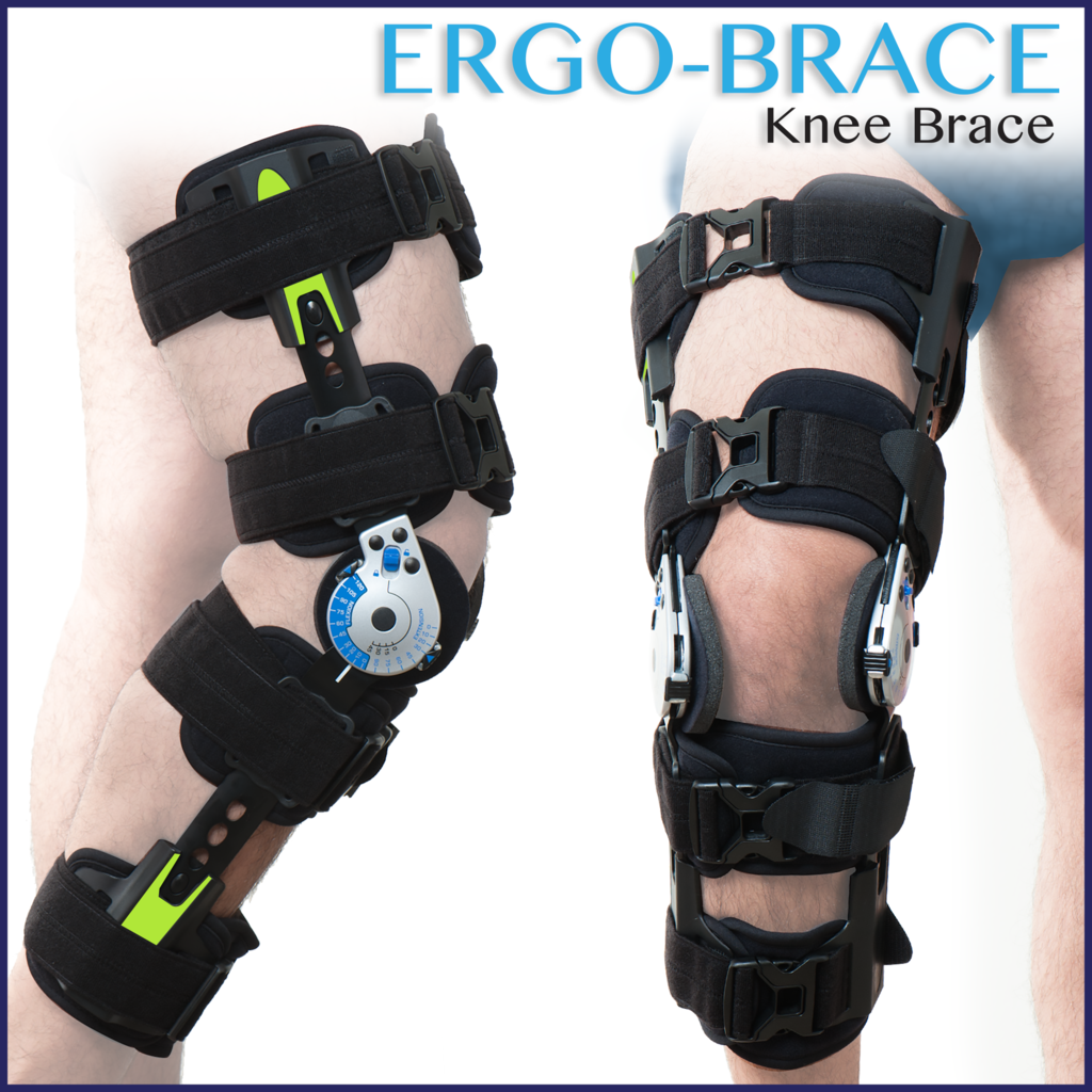 Knee Brace Lateral And Front View Knee Brace Knee Knee Joint