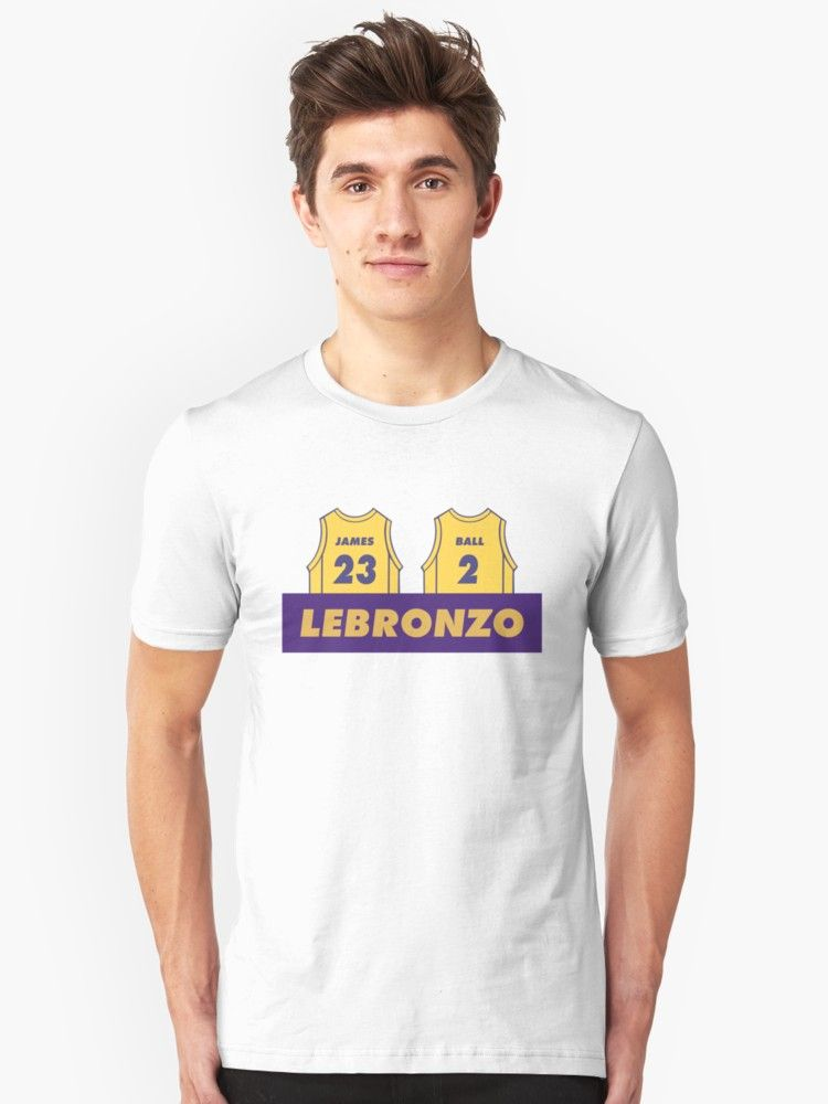 Buy  Lebronzo Lebron James Lonzo Ball Lakers Shirt  by embedshop as a T- Shirt 39d5811b5