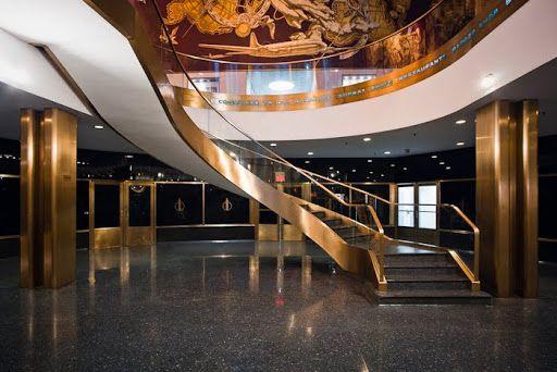 Iconic Facades 30 Rock The Rockefeller Center Nyc Rockefeller Center Structure Design Interior Railings