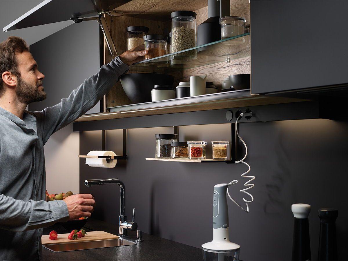 Cocina En Paralelo Anexa Al Salon Comedor Con Imagenes Cocinas
