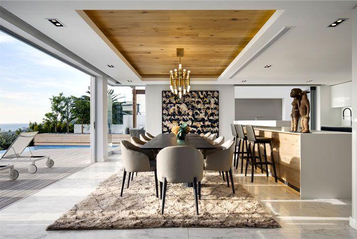 Arrcc Create A Modern And Sophisticated Cape Town Villa Modern Villa Design Interior Design Villa Design