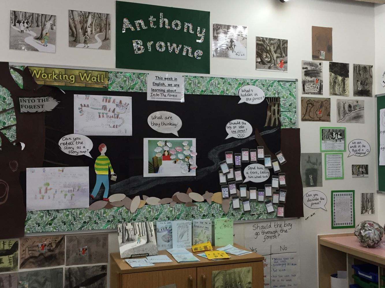 Workbooks the twits worksheets ks2 : Into The Forest display | General Teaching Ideas | Pinterest ...