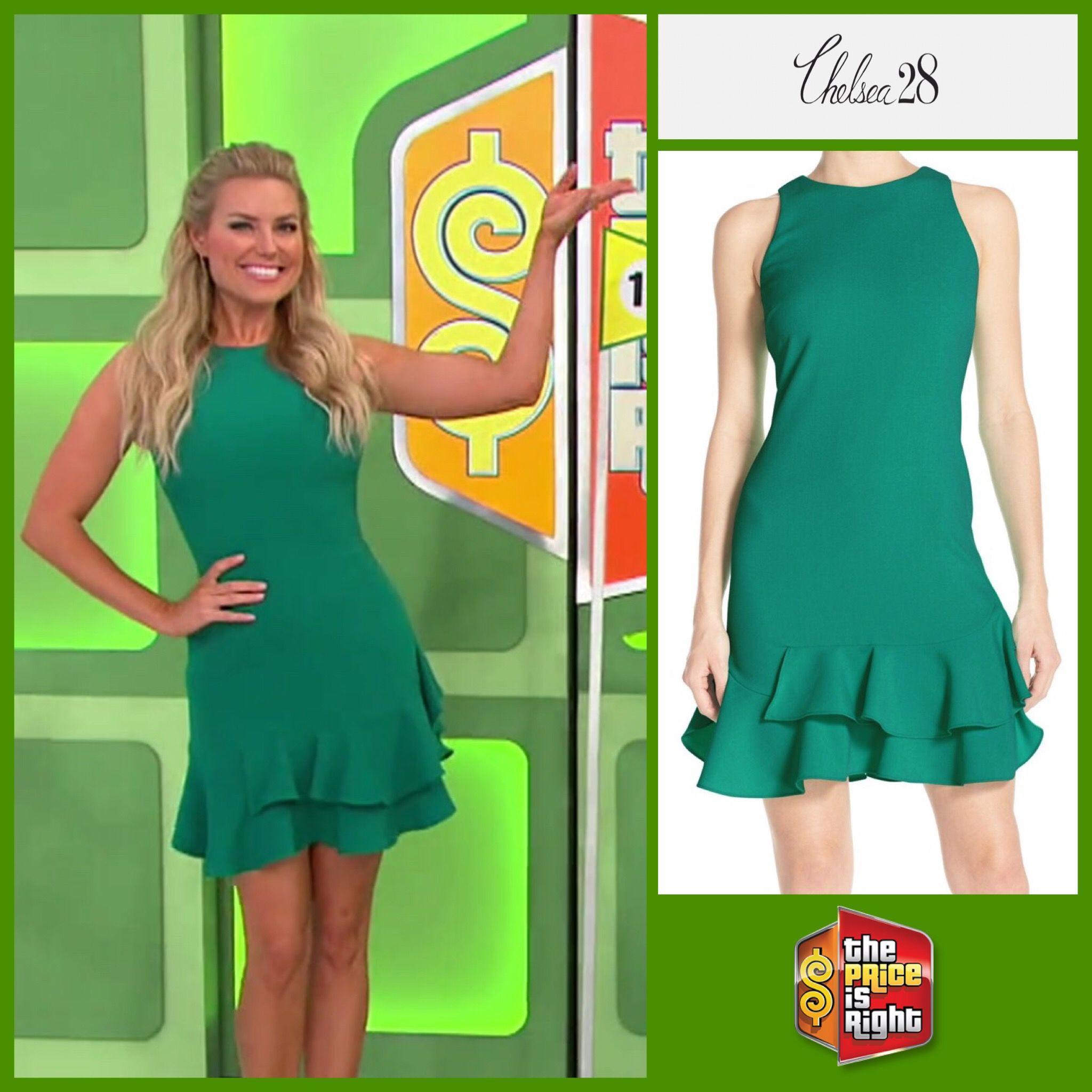 Chelsea28 Tiered Ruffle Hem Dress In Green Ultra Worn By Rachel Reynolds Fashion Beauty Ruffle Hem Dress Fashion [ 2048 x 2048 Pixel ]