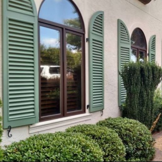 We measure, quote, and install exterior shutters, bahama shutters ...