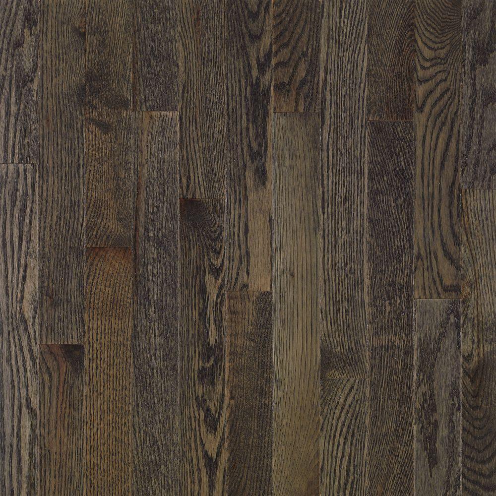 Bruce American Originals Coastal Gray Oak 3 4 In T X 2 1 4 In W X Varying Solid Hardwood Flooring 20 Sq Ft Case Shd2623 The Home Depot Solid Hardwood Floors Grey Oak Flooring