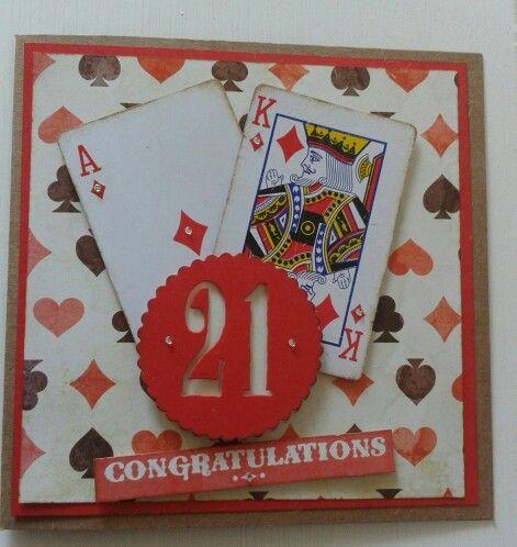 Male 21st Birthday Card Party Ideas Pinte