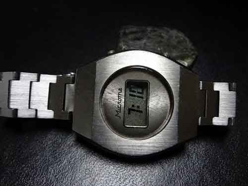 Microma: The World's First LCD Wrist Watch