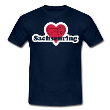 Für jeden Sachsenring Liebhaber ein muss, die Streckenführung des der Kultstrecke im Herzen.