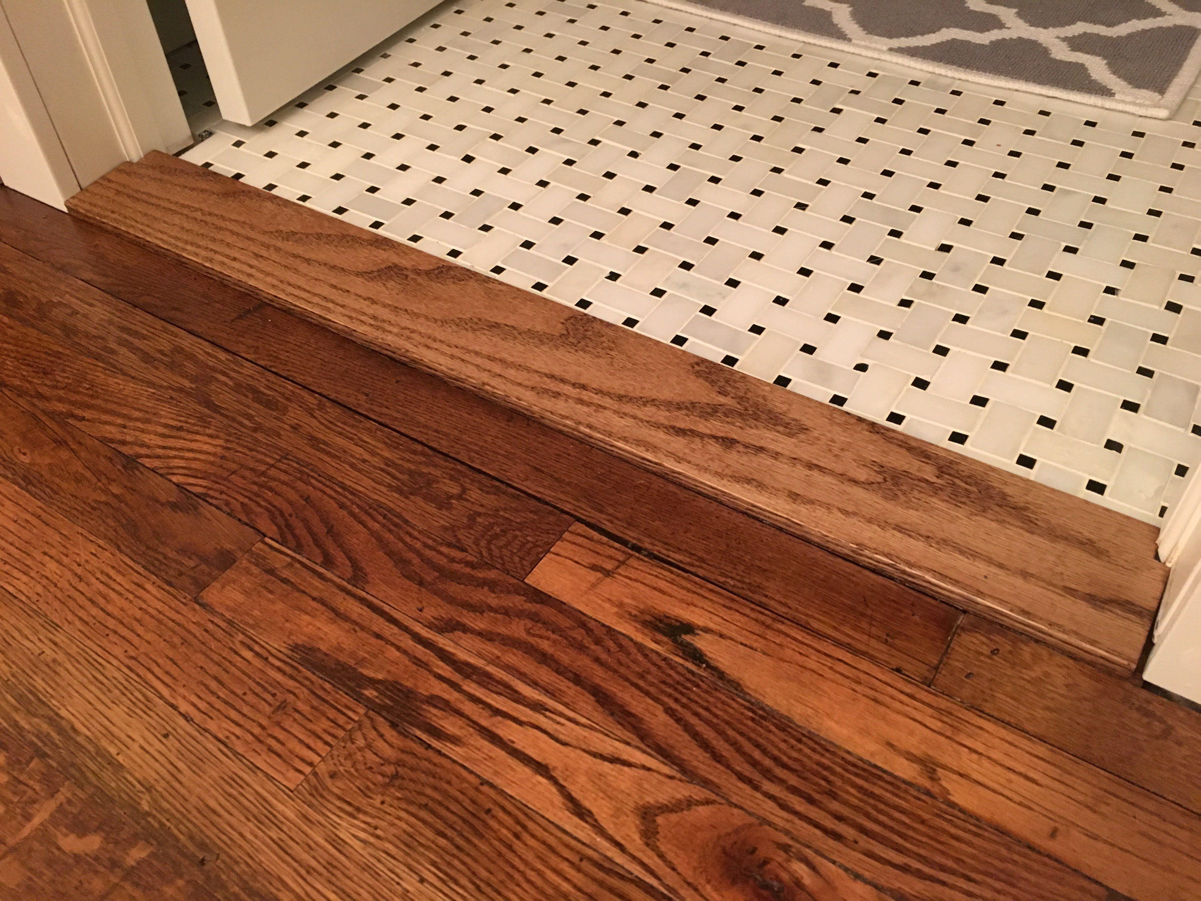 custom floor transition threshold