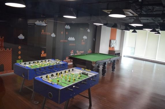 How To Set Up Pool Balls Quora >> Which Startups Have The Best Office Space Quora Interior