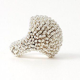 Silver Beaded ... Beautiful