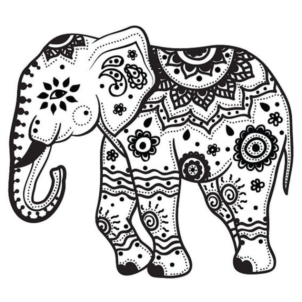13 Unique De Coloriage Mandala Elephant Photos Coloriage Elephant Coloriage Mandala Tatouage Elephant Mandala