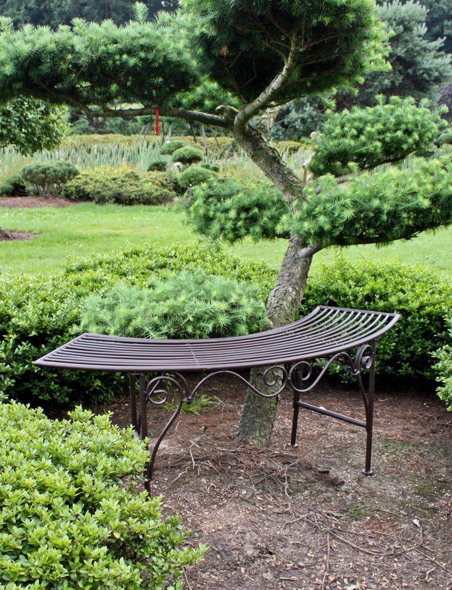 Garden Pleasure Bogenbank aus Metall Jetzt bestellen unter: https ...