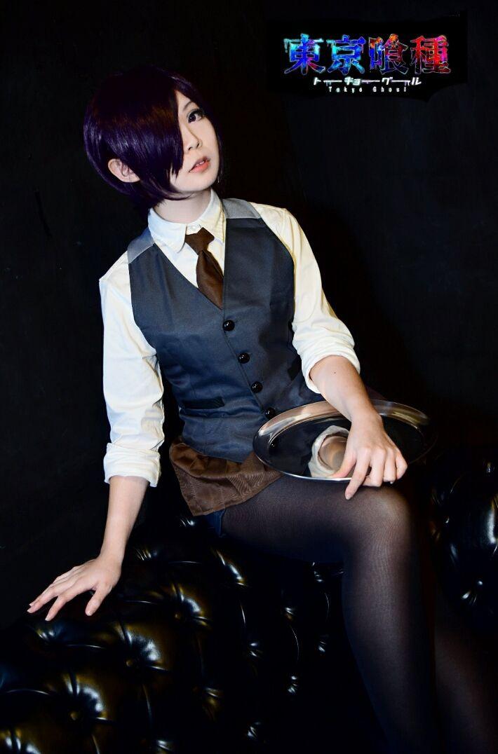 coffee shop uniform version - Tei S Mew(提S) Toka Kirishima Cosplay Photo - WorldCosplay