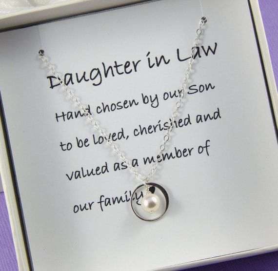 Daughter In Law NecklaceDaughter In Law Gift Daughter In