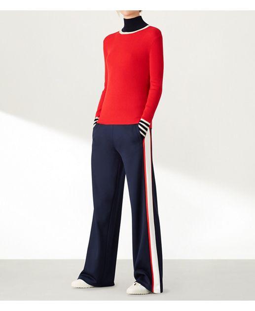 61ed4438f452f Tory Navy   Snow White Tory Sport Wide-leg Track Pants