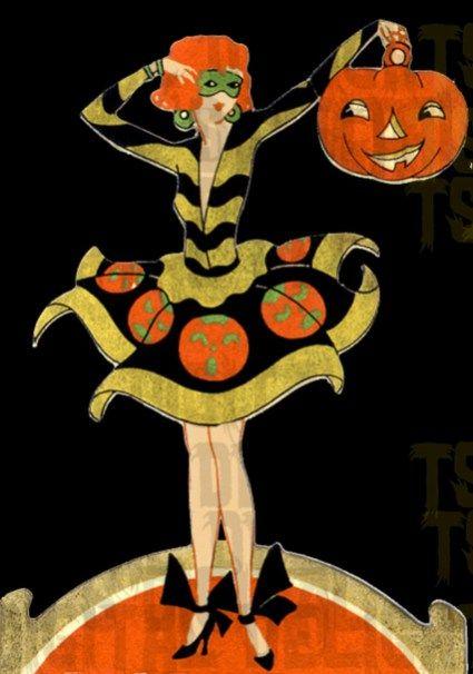 55 Beautiful Vintage Halloween Decoration Ideas Pinterest - vintage halloween decorations