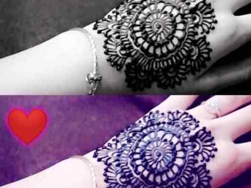 Cool Henna Designs For Girls: Cool Henna Tattoos For Back Hands