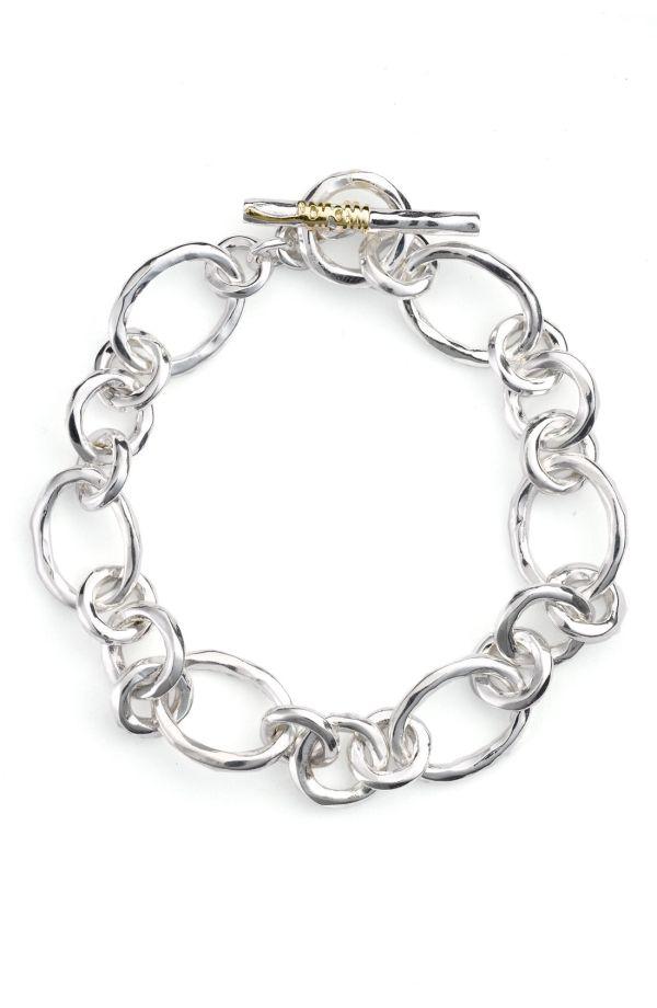 Ippolita Hammered Link Bracelet N43eMWTT3l