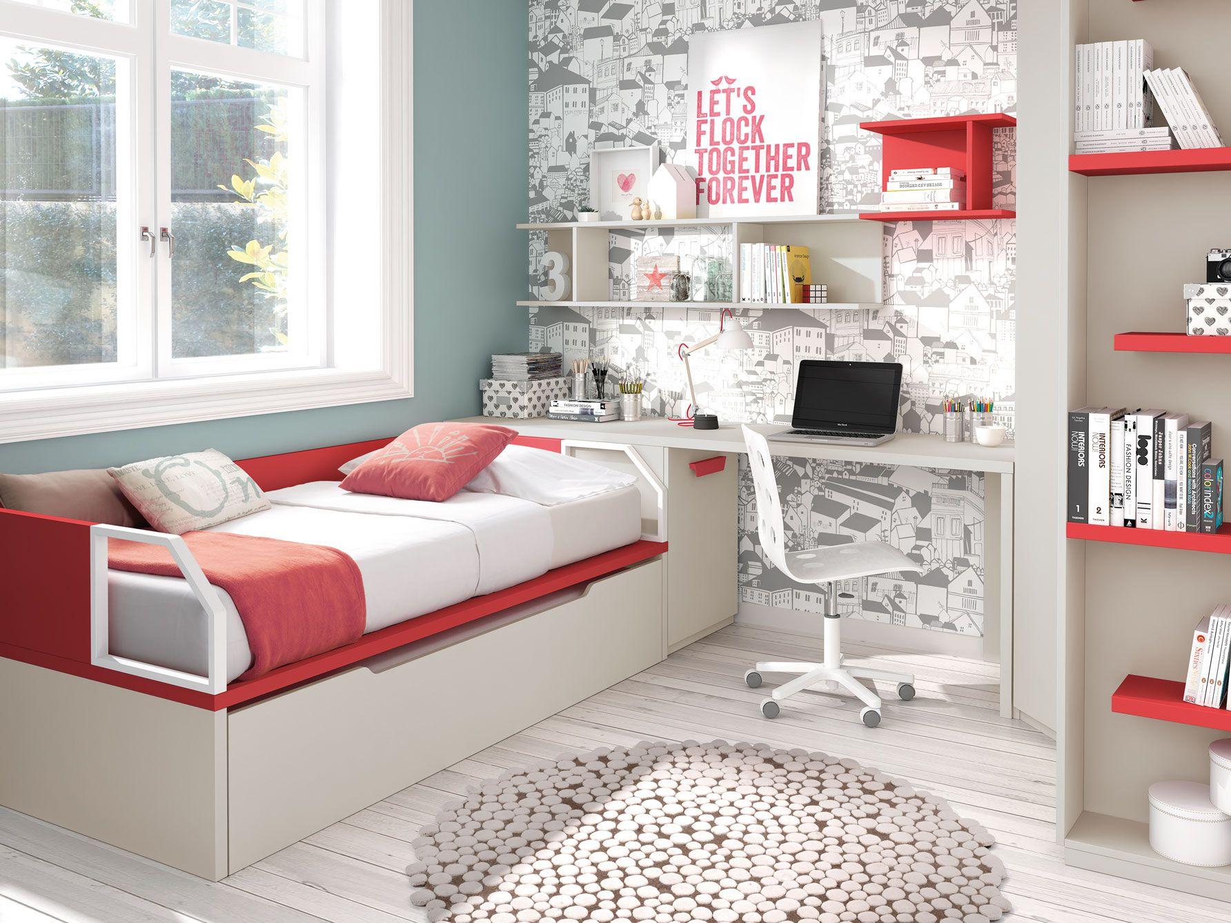 Pin de muebles ros en novedades mueble juvenil muebles for Muebles juveniles zona sur